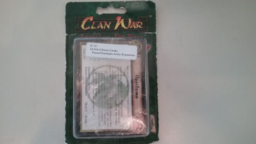 Clan War  Force Cards Expansion Totori/ Yoritomo Army Expansion
