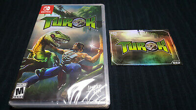 TUROK remaster - limited NINTENDO SWITCH run games N64 super rare console