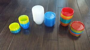 Small snack cups