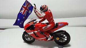 Ducati Desmosedici GP7. Casey Stoner, Ducati Team. GP Australia 07.  Minichamps