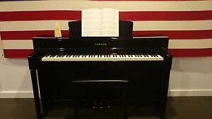 Superb Yamaha CLP545PE Clavinova electronic piano Dernancourt Tea Tree Gully Area Preview