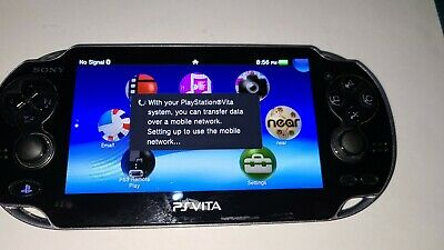 Ps vita / 4gb memory card / wifi+3g 1100 model Sony playstation