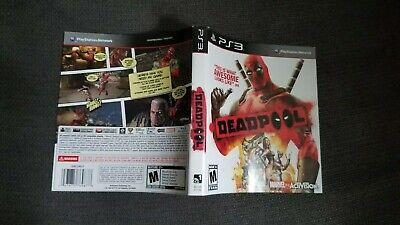 DEADPOOL:  *PS3 INSERT* SLIP COVER ART