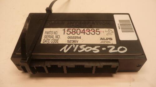 NY505-20 OEM WARRANTY 2005-2011 CADILLAC STS BODY CONTROL MODULE BCM BCU