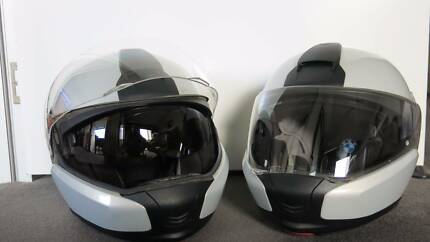 BMW Series 6 Lift Front Full Face Helmets x two (2) Price $250ea Surfers Paradise Gold Coast City Preview