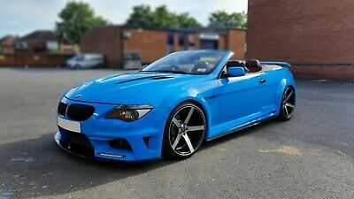BMW CLR 600 M6 WIDE ARCH CONVERSION REPLICA BESPOKE M6 645i CONVERTIBLE