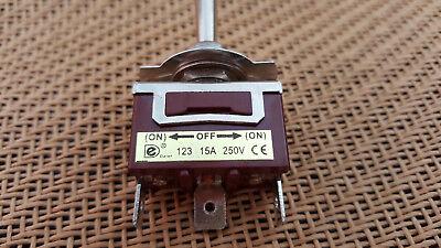 2pcsheavy Duty Spdt On Off On Spdt 9v-12v-24v-120v-250v Momentary Switch