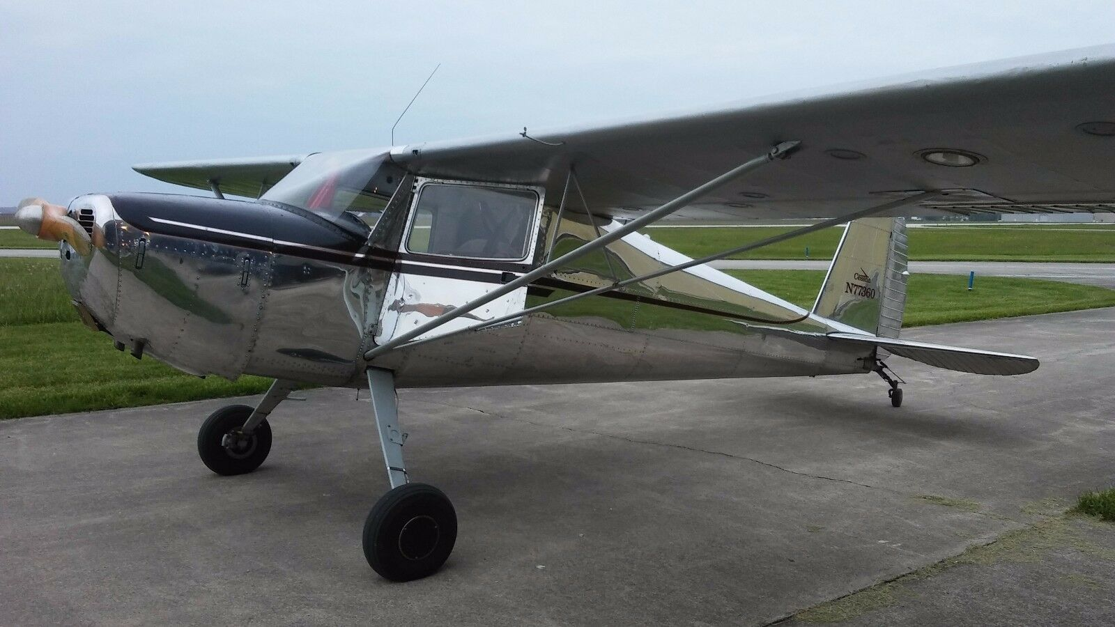 Cessna 120 Polished Used Cessna For Sale In Celina