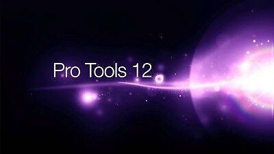 Avid Pro Tools 12 PERPETUAL USED Software VERSION INCLUDED 10 + 11 + 12.5.2