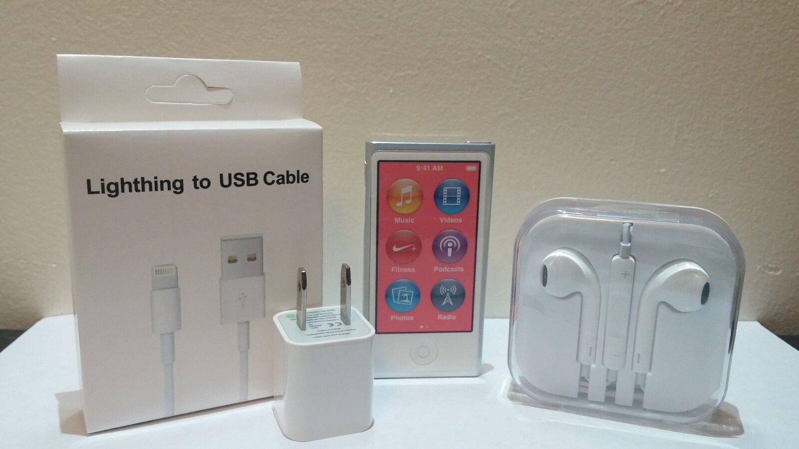 Ipod - Apple iPod nano 7th Generation Silver (16 GB) new