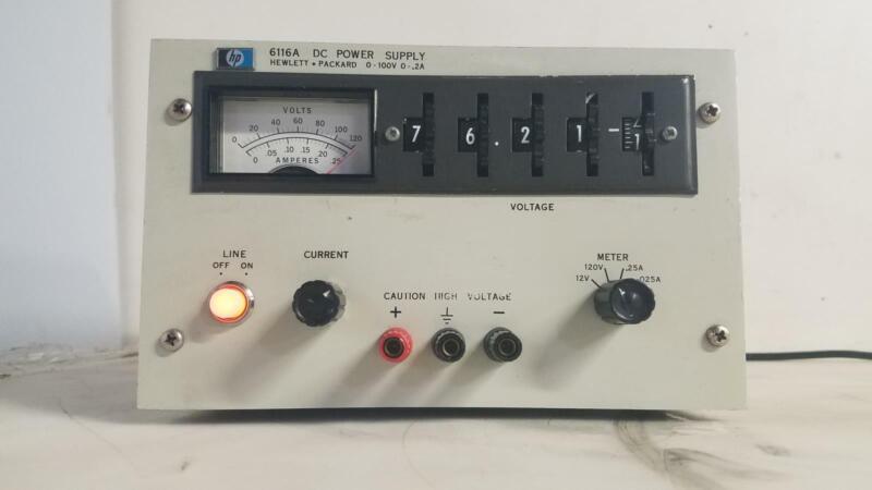 HP 6116A DC POWER SUPPLY