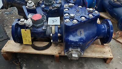 Sensus Omni Fireline F2 Water Meter 4 With Fire Main Strainer Sensus 3 Or 4