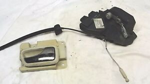 Volvo S70 V70 driver side LH rear door lock actuator latch assembly OEM 98 99 00