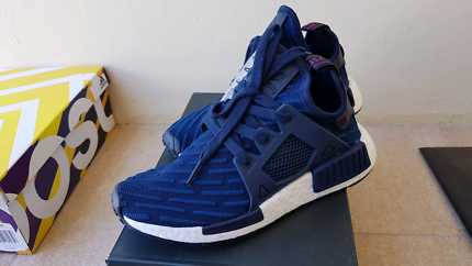 NEW Adidas Originals NMD XR1 PK Collegiate Navy US 4