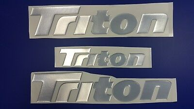 "Triton boat Emblem 14"" + FREE FAST delivery DHL express"