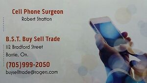 Your local ( Barrie) Cell Phone Surgeon.(CELL PHONE REPAIR)
