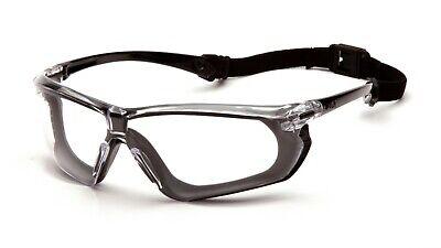 Pyramex Crossovr Blackgray Clear Anti Fog Safety Glassesgoggles Foam Padded