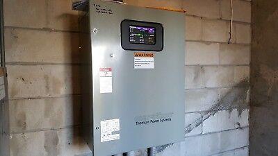 Marathon Thomson Power System Generator Transfer Switch 200amp 1-3 Phase