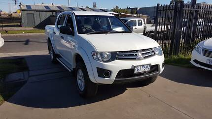 2012 Mitsubishi Triton GLX Duel Cab Ute TURBO DIESEL 4X4 Williamstown North Hobsons Bay Area Preview