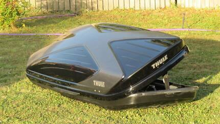 "Thule ""Excellence"" Rooftop Black Roof Box"