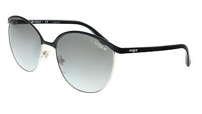 Vogue VO4010S 352/11 Black/Silver Aviator Sunglasses