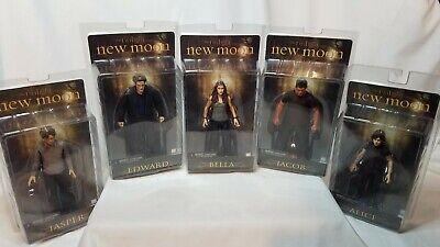 Twilight Saga New Moon Figures. Bella Edward Jacob Alice Jasper.