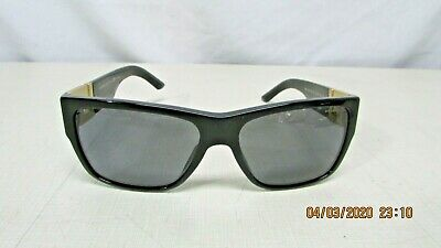 Versace Ladies Sunglasses Black Polarized 4296 GB1/81  59-16 145 3P Italy  FS
