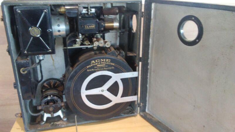 Acme 35mm Portable Antique Movie Projector Model 12