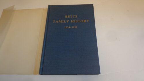 *Genealogy Betts Family History 1634-1958