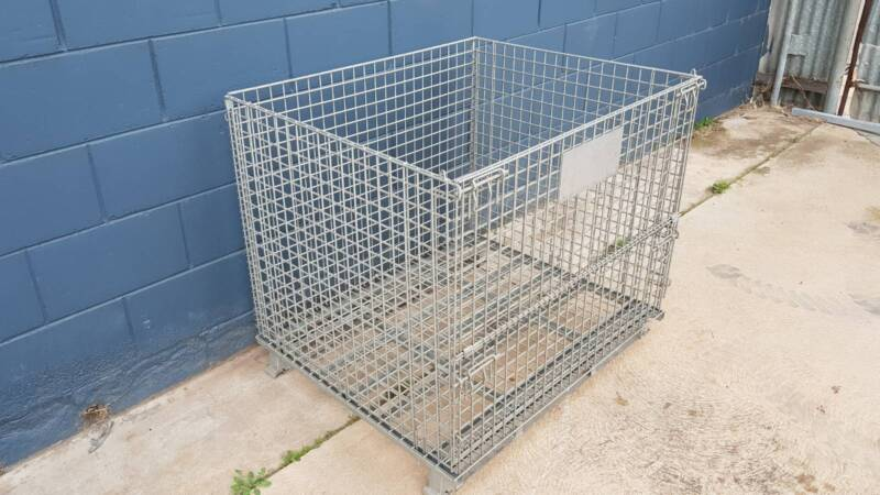 Collapsible Foldable Wire Mesh Stillage Pallet | Miscellaneous Goods ...