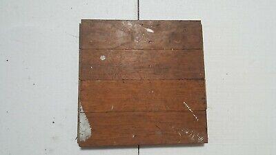"""OAK Wood Parquet Flooring  9"""" x 9"""" x 3/4"""" square ... 12 (twelve) square tile for sale  Los Angeles"""