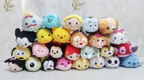 170 Disney TSUM Eeyore Mickey Winnie Stitch Mini Plush Soft