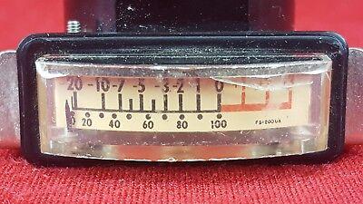 Vintage Triplett Vu Meter Level Indicator Tested