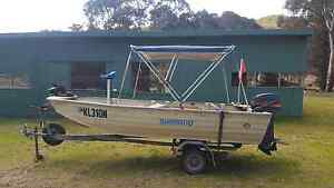 4.2m Bermuda Tinnie with 25h Mariner outboard Moonbi Tamworth Surrounds Preview