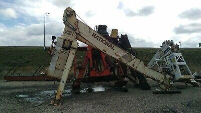 National 337b Truck Mount Crane Truck Crane