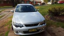 FORD FALCON XR6 TURBO - BA, low kms, black leather seats. Orange Orange Area Preview
