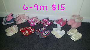 Baby girl shoes 6-9m Greenmount Toowoomba Surrounds Preview