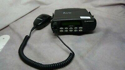 Motorola Aam25kkf9aa5an Cmd1550 Mobile 2-way Radio W Motorola Mic Aarmn4025b