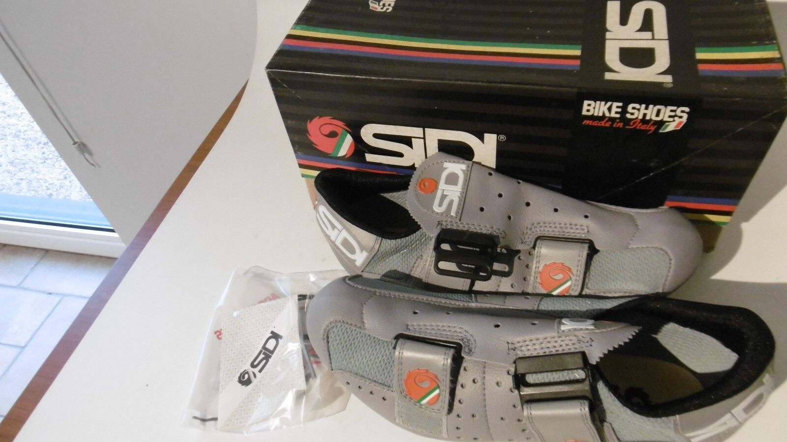 Vintage SIDI Cycling Shoes Size 40 Made In Italy NOS