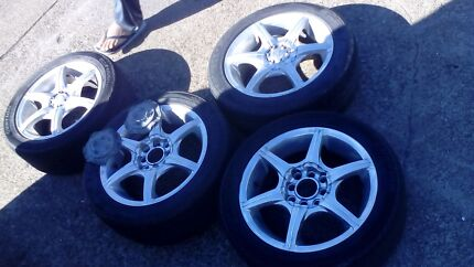 4x100 , 4x114 alloy wheels 16 inch -$250 Robertson Brisbane South West Preview