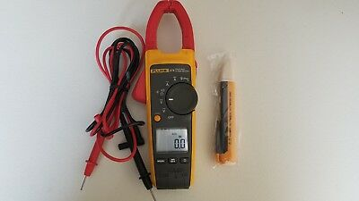 Used Fluke 374 True Rms Acdc Clamp Meter Must See Nice Tp 224151