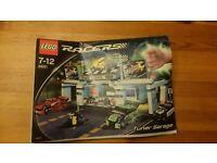 1x Lego Bauanleitung A4 für Set Racers Tiny Turbos Tuner Garage 8681