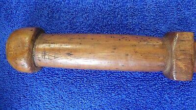 Vintage Wood Tribal War Club South Pacific Island Oceania Polynesian Samoa Fiji