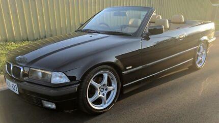 BMW E36 Convertible Rare in Black Tanunda Barossa Area Preview