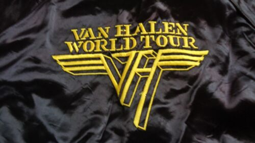 VAN HALEN ORIGINAL 1979 WORLD TOUR PROMOTERS JACKET  LARGE