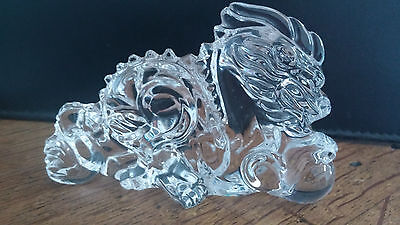 Baccarat Crystal Chinese Zodiac Dragon w/Ball