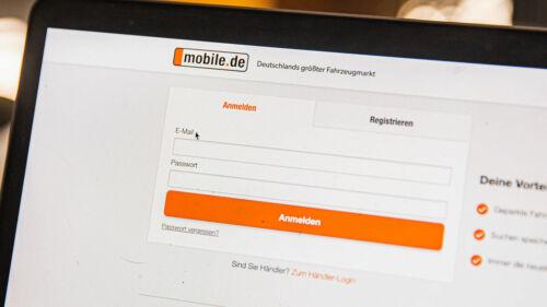 Mobile de login kaufvertrag