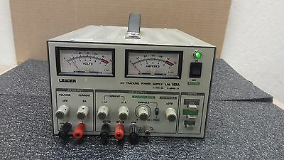 Leader Lps 152a Triple Output Dc Tracking Power Supply