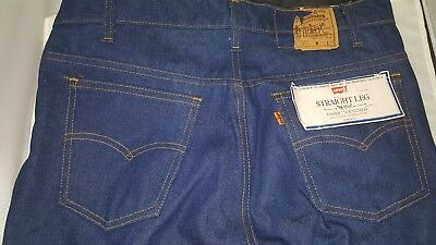 Vintage Levi's 21508 0914 Men's Straight Leg 34 x 32 Blue Jeans Made in the USA