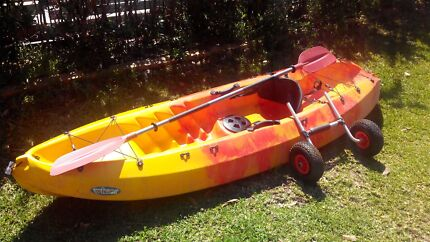 "Kayak sit on top single Winner velocity 1 in ""New"" condition2.65M Hornsby Hornsby Area Preview"